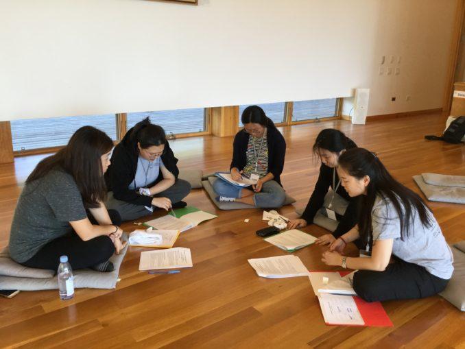 4. 청년 첫 날 오후 조별 토의 (1) Group 너구리