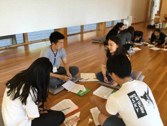 4. 청년 첫 날 오후 조별 토의 (2) Group 댄